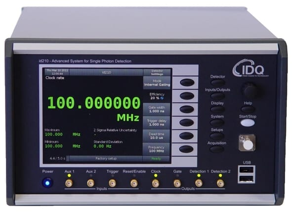 Near-Infrared Photon Counter with 100 MHz trigger rate