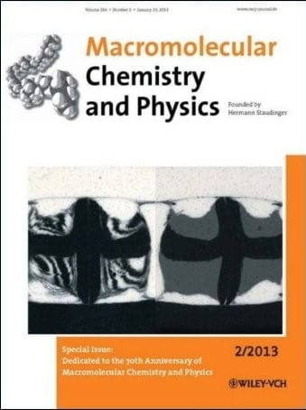 70 Years of Macromolecular Chemistry and Physics