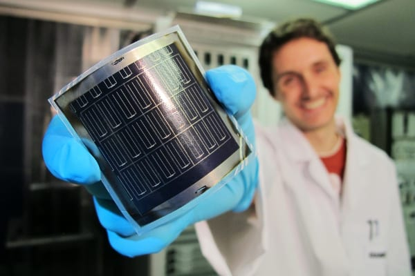 CIGS solar cells from Empa break efficiency record
