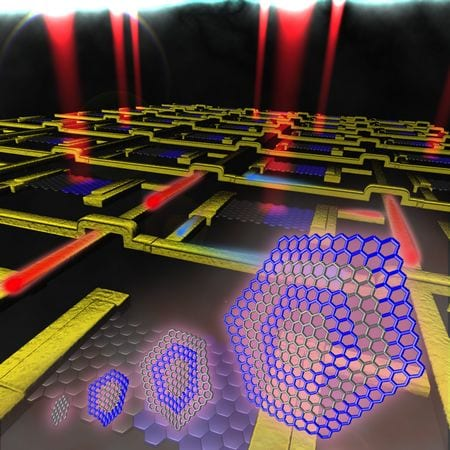 Graphene technique allows high-quality p-n junctions