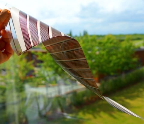 Flexible ITO-Free Polymer Solar Cells