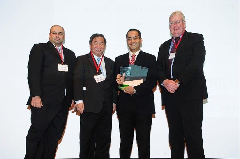 Professors Ali Khademhosseini and Hua Zhang win 2012 Small Young Innovator Awards