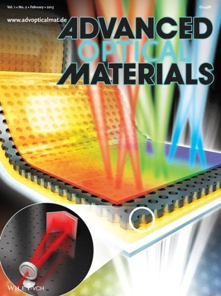 Advanced Optical Materials publishes Issue 2