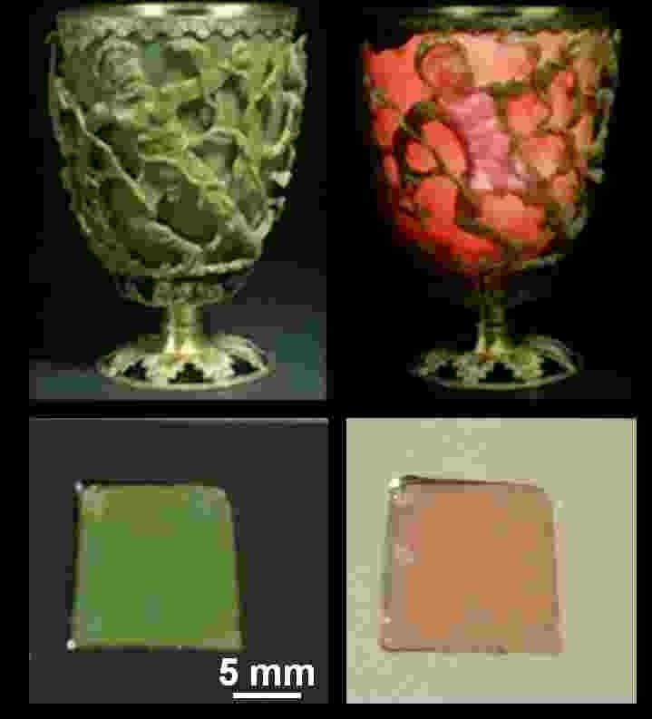 The Holy Grail in Plasmonics – The Lycurgus Cup Goes Nano