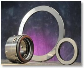 ultrananocrystalline diamond mechanical pump seals