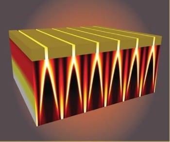 Subwavelength interference patterns for optical transmission