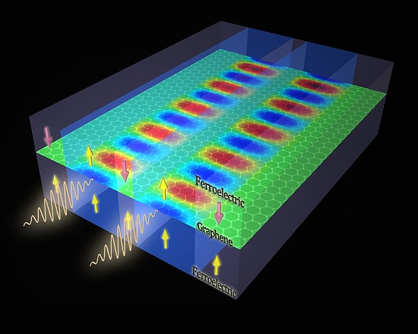 Combining ferroelectrics and graphene for data storage