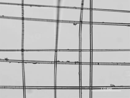 Weaving nanostructures using actuation forces