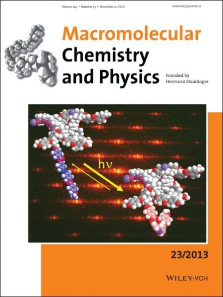 Cover Macromol Chem Phys