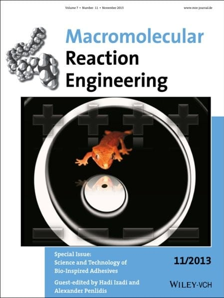 Cover Macromol React Eng