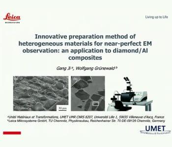 Innovative preparation method of heterogeneous materials for near-perfect EM observation