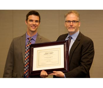 Journal of Polymer Science Innovation Award Presented to Brent Sumerlin