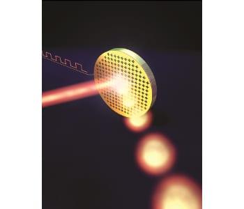 Ultrafast Electrically Tunable Polaritonic Metasurfaces