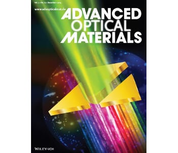Advanced Optical Materials – December Issue Covers