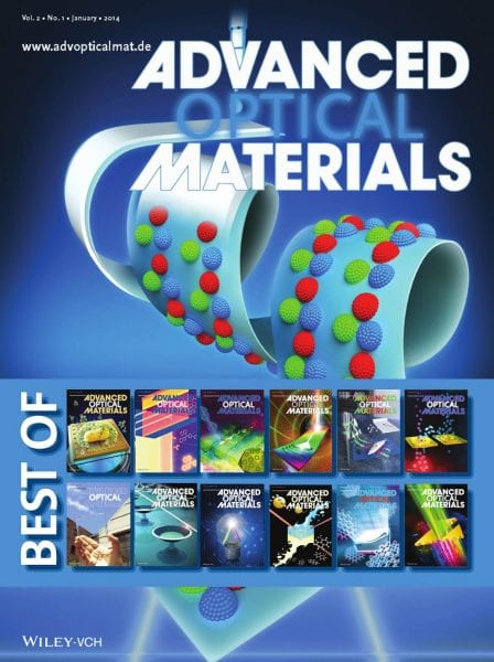 online optical ju6k  Best of Advanced Optical Materials  Now online