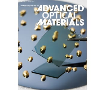 Advanced Optical Materials – January Issue Covers