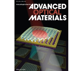 Advanced Optical Materials – May Issue Covers