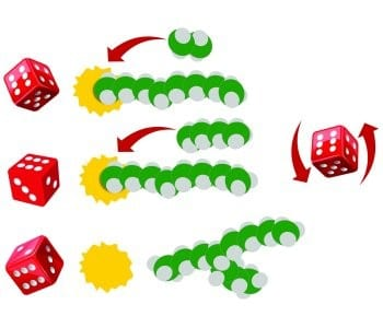 When polymer reaction engineers play dice