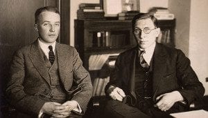 1923 Nobel Prize for the discovery of insulin, Banting and Best, University of Toronto.