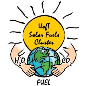 University of Toronto Solar Fuels Cluster – Solar Fuels from the Sun Not Fossil Fuels from the Earth. Graphic courtesy of Chenxi Qian.