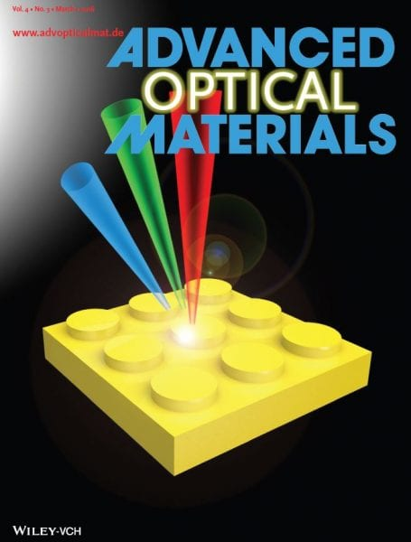 Advanced Optical Materials – March Issue Covers