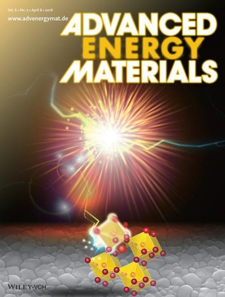 Best of Advanced Energy Materials – April