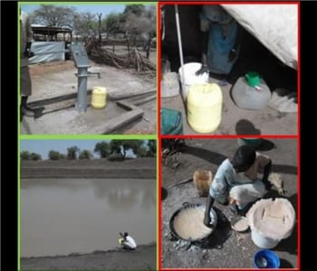 Transmission of Waterborne Viruses in South Sudan Refugee Camps