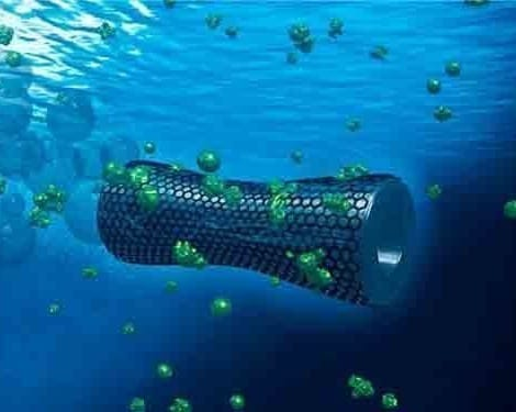 Tiny microbots clean up water