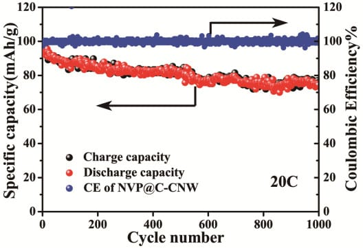Porous Nanowires for High-Rate Sodium-Ion Batteries