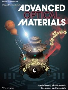 Front cover of the Photochromic Molecules and Materials Special Issue