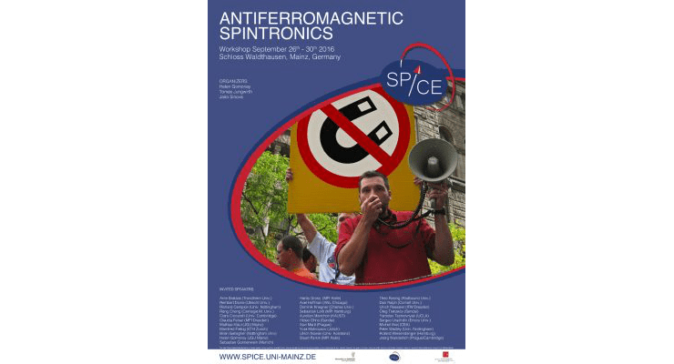 Workshop on Antiferromagnetic Spintronics in Mainz