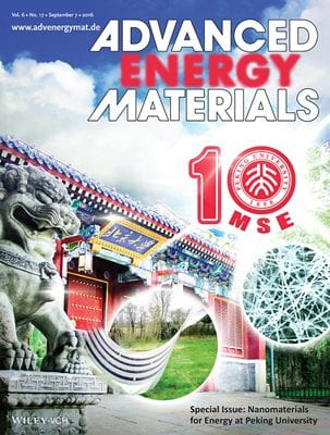 Nanomaterials for Energy at Peking University Special Issue