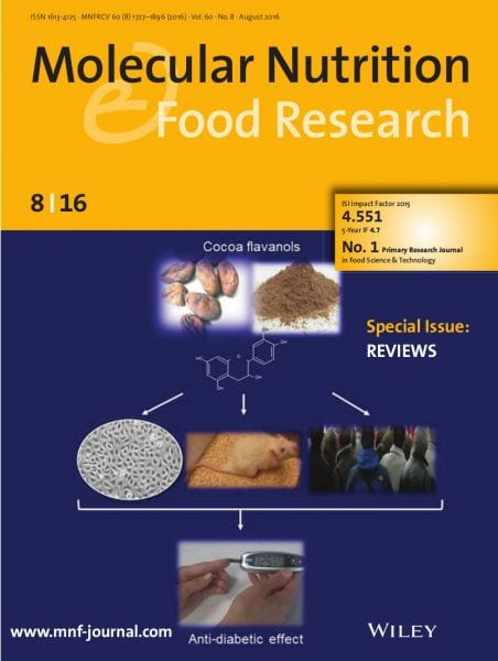 Reviews Special Issue in Molecular Nutrition & Food Research