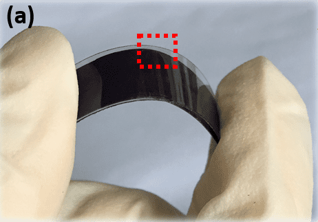 Flexible dye-sensitized solar cell photoanodes