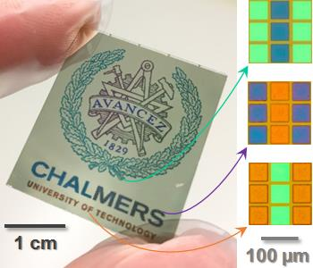 Flexible Electronic Paper in Color