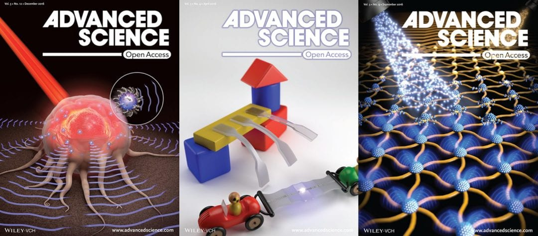 Welcome to the 4th Volume of Advanced Science