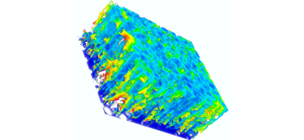 Multiscale Analysis of the 3D Geometry of Li-Ion Electrodes