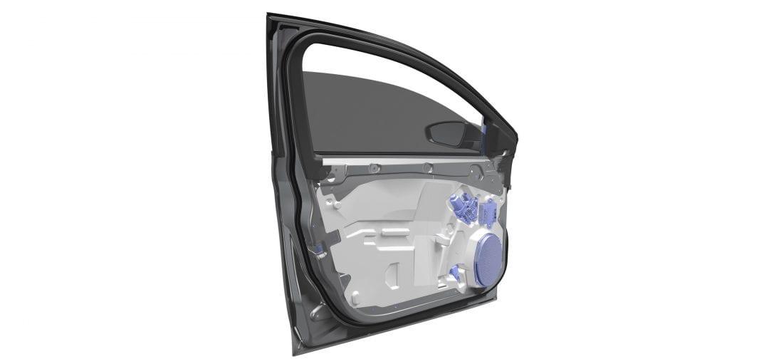 Ultralight Door Module