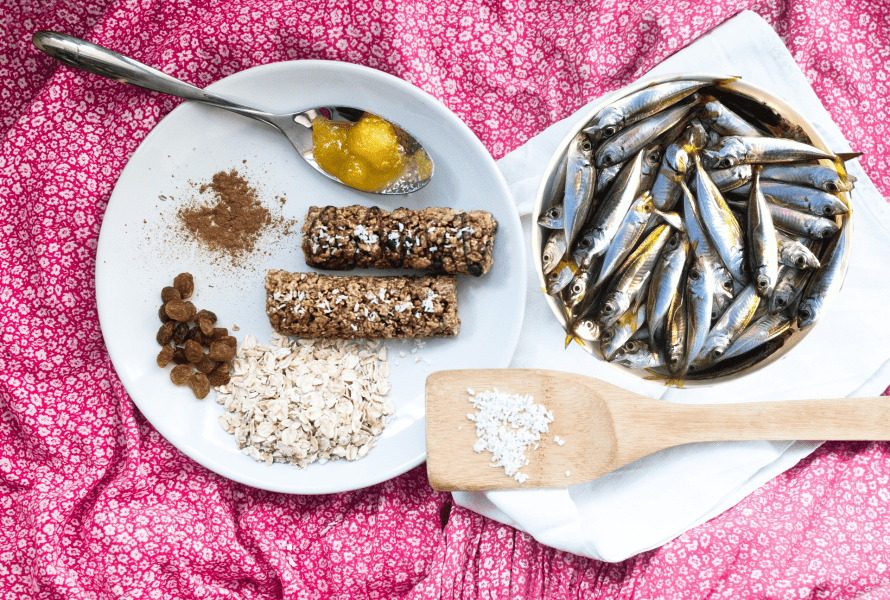 Something Tastes Fishy: Granola Bars with Added Nutritional Benefits