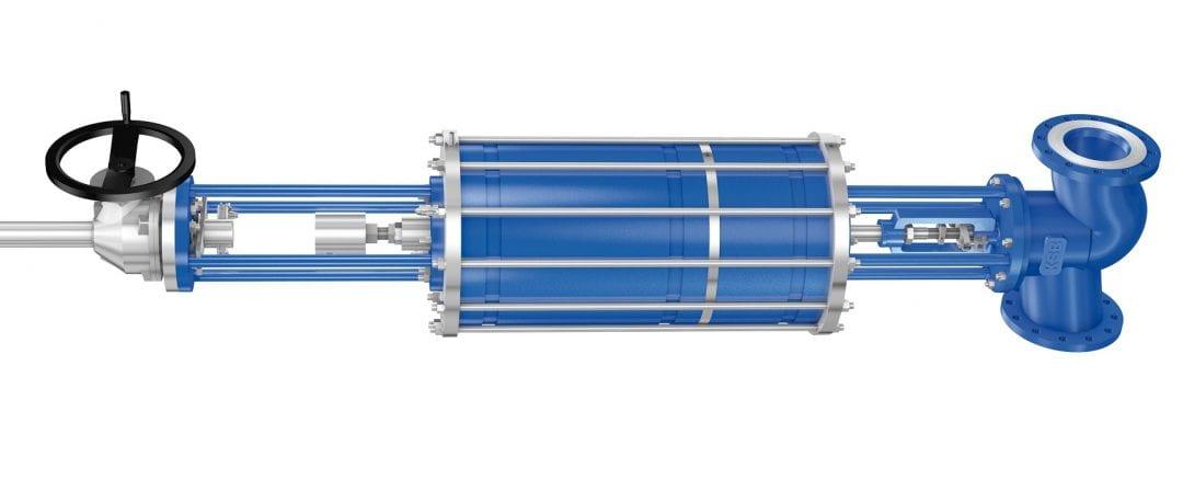 Pneumatic Actuator with Tandem Piston