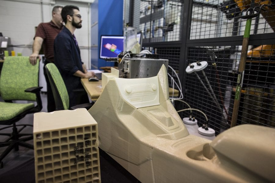 3D-Printing of Large Automotive Parts