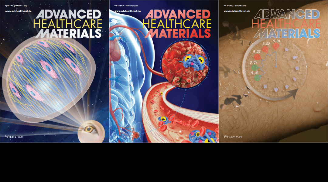 Cover Art – Featuring Corneal Models, Theranostics and More