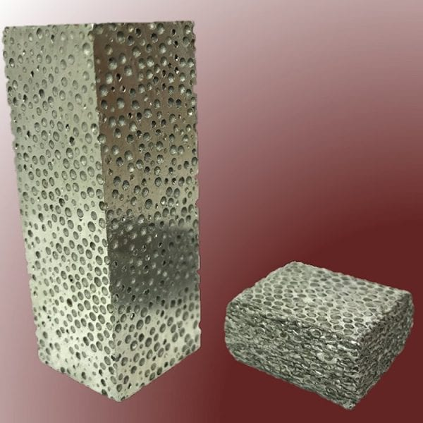 a48859e4afc Composite metal foam (CMF) is a lightweight material made by hollow metal  spheres stacked tightly together creating dispersed porosities