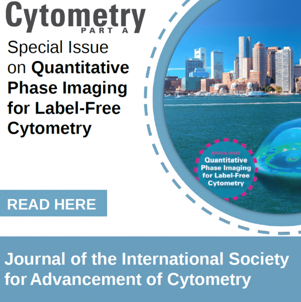 Special Issue on Quantitative Phase Imaging for Label-Free Cytometry
