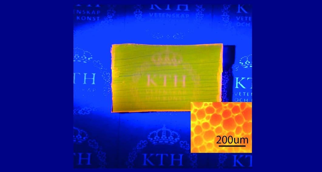 Transparent Wood Laser