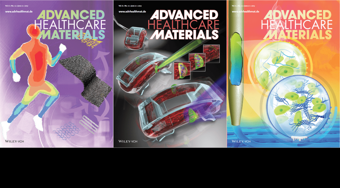 Cover Art – Featuring Bioactuators, Bioprinting and Temperature Sensors