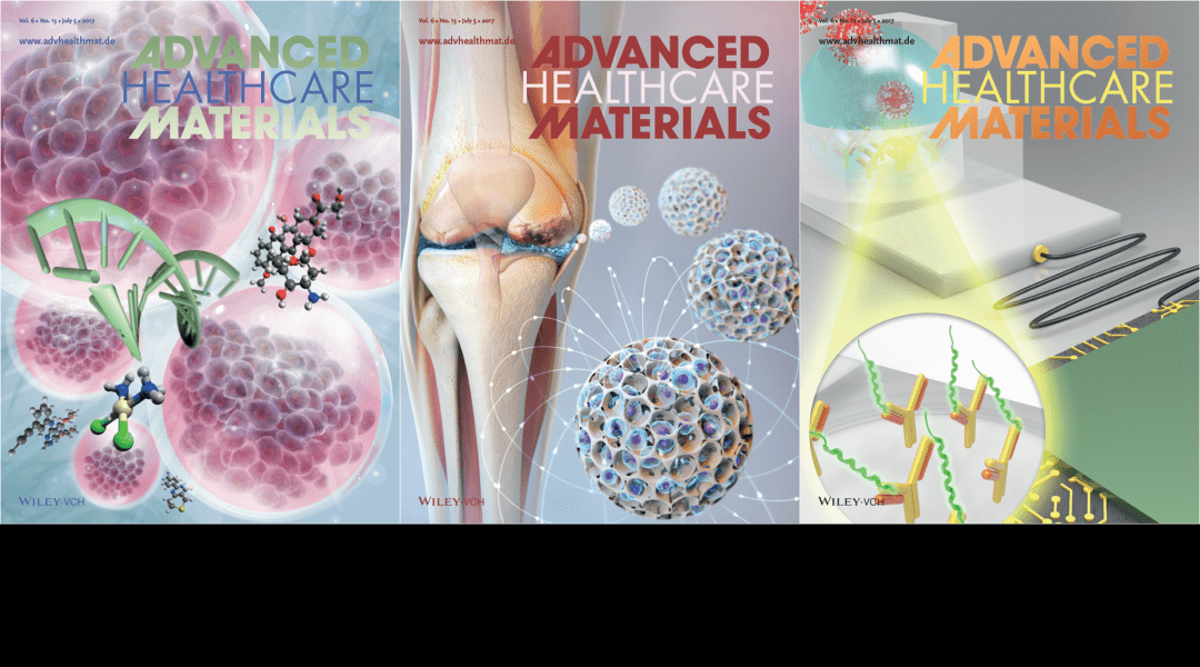 Cover Art – Featuring Stem Cell Therapy, Avian Influenza Sensors and Liquid Marbles