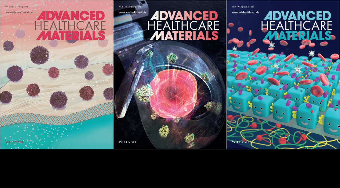 Cover Art – Featuring Multilayered Nanofilms, Endothelial Cells and Virus Filtration