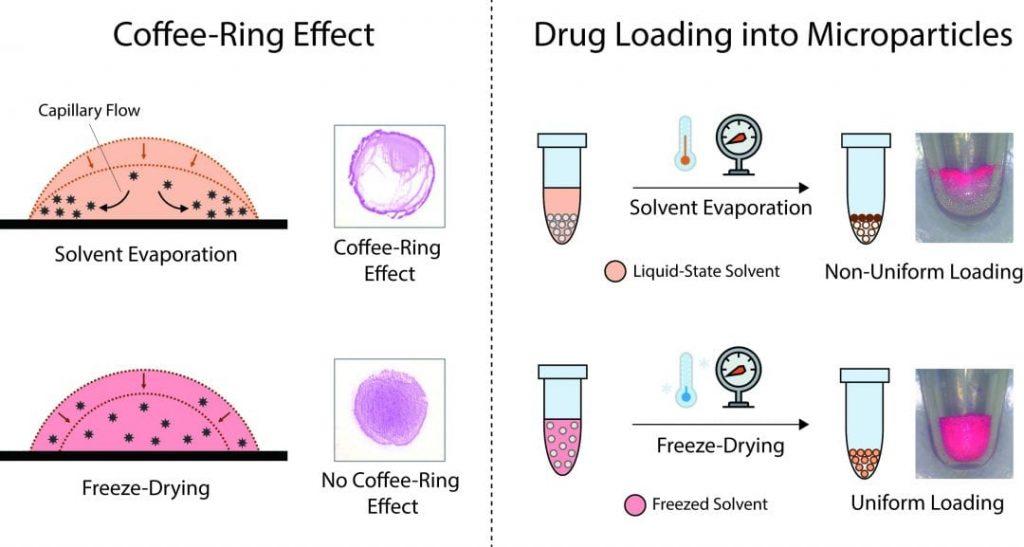 avoiding the  u0026quot coffee-ring effect u0026quot