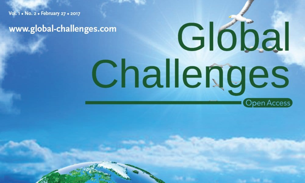 Global Challenges: Editors' Choice